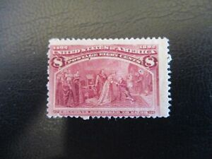 US #236 DG Mint Hinged - WDWPhilatelic (DZ41)