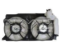 TYC 623370 Dual Rad&Cond Fan Assy for Scion FR-S 2013-2016 Models