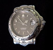 TAG Heuer 6000 Midsize Stainless Steel Watch WH1212 For Screw Type Band Only
