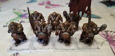 7 Warhammer ogres/ogors painted to a good standard.
