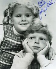 "Johnny Whitaker Family Affair Signed 8x10 From Hollywoodshow ""Buffy & Jody"""
