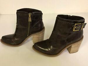Luxury Rebel Maggie Boots, Leder Stiefeletten, Gr. 38