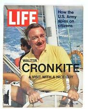 Vintage LIFE Magazine 1971 March 26 Walter Cronkite Ho Chi Minh Trail Army Spies