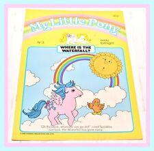 ❤️My Little Pony G1 Merchandise 1985 Magazine Comic #3 Where is the Waterfall?❤️