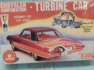 JOHAN 1963 CHRYSLER TURBINE TRUE VINTAGE RARE COLLECTABLE KIT IN ORIGINAL BOX