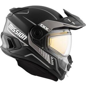 CKX AMS Mission Helmet - Tracker - Glossy Grey