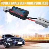 Digital Watt Meter Monitor Voltage Amp Draw For Fridge Solar AGM Battery PLUG