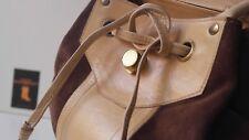 TRUE VINTAGE XXL Grabbel Bag Beutel Tasche 60er 60´s Rockabilly Leder Bag