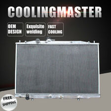 2 Core Aluminum Radiator For Acura TL Base V6 3.2L J32A3 MT 04-06 Base 4-Door
