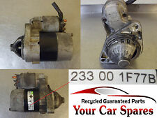 Nissan Micra K12 1.2 12v Starter Motor for Manual Models 233001F771