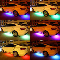 RGB LED Neon Auto Tube Streifen Licht-Underbody Musik Lampen App System   ! X8B2