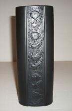 Vintage Bjorn Wiinblad Rosenthal Studio Line Porcelain Noire Black Bisque Vase