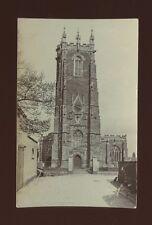 Devon CULLOMPTON  Church pre1919 RP PPC