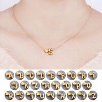 party liebhaber vergoldet halskette 26 buchstaben & herz geformt - anhänger
