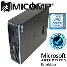 Fast HP Quad Core Desktop Computer PC Windows 10 Home, Intel i5 3.1Ghz 8GB 250GB