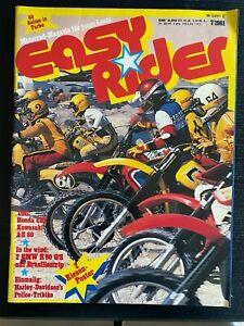 Easy Rider Motorrad-Magazin für junge Leute Nr. 7 / 1981