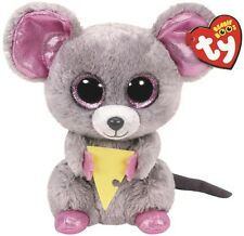 NEW Beanie Boos - Squeaker The Mouse With Cheese from Mr Toys