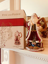 "NIB Fitz & Floyd Night Before Christmas Pitcher 12 1/2"" Tall Holiday Decor"