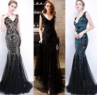 Noble Evening Formal Party Ball Gown Prom Bridesmaid Fishtail Host Dress YSGZ21