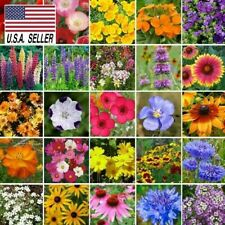 300+ Southeast Wildflower Seed Mix 25 Species of Wildflower Seeds Usa-Seller!