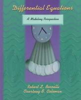Differential Equations: Modelling Approach by Robert Borrelli