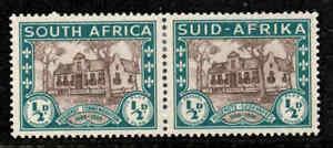 SOUTH AFRICA 1939 SG82 KGVI ½d.+½d.  ANNIV. OF HUGUENOT LANDING  -  MH/MM