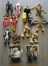 Mixed ACTION FIGURE LOT Star Wars Marvel DC Power Rangers TMNT Collectable