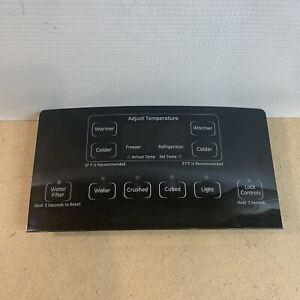 GE Refrigerator Dispenser Control Panel w/Board   200D7355G060