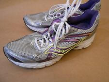 SAUCONY 15181 Grid Cohesion 7 Women Walking Running Shoes Sneakers Sz 11 Silver