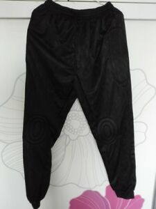 NEW Soccer Goalkeeper Long Trousers Pants with Pads Black for 175-180cm