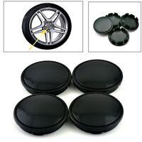 4Pcs 58mm/53mm Universal ABS Plastic Car Wheel Center Hub Caps Decorative Cover