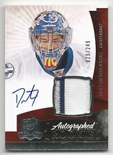 10-11 Dustin Tokarski The Cup Auto Rookie Card RC #147 Jersey Patch 029/249
