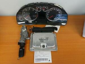 AUDI A6 IGNITION KIT WITH KEY SECURITY SET,C5, 3.0LTR, PETROL, AUTO, 01/02-10/04