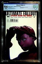 Ultimate Fallout #4 CBCS 9.6 Bendis, Larroca, 1st Miles Morales as Spider-Man
