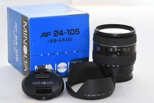 Minolta AF 24-105mm f/3,5-4,5 D Makro Minolta/Sony A-Mount