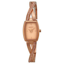 DKNY Crosswalk Rose Pearlized Dial Rose Gold-plated Ladies Watch NY2238