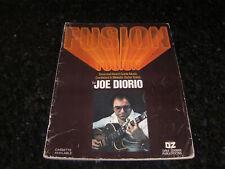 Fusion by Joe Diorio Tonal & Avant Garde Music Combined in Melodic Guitar Solos