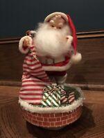 RARE Vintage Santa Claus Music Box by Napco/Japan with Original Box