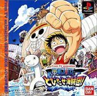 ONE PIECE Tobidase Kaizokudan PS1 Sony Japan Import PlayStation