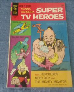Gold Key Silver Age Hanna Barbera Super TV Heroes #2 Comic Book Herculoids 1968