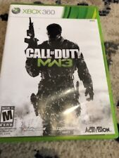 XBOX 360 - Call of Duty MW3 Video Game with manual
