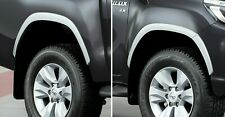 FENDER FLARES WHEEL ARCHES SILVER GENUINE PARTS FOR TOYOTA REVO 2018 - 2020