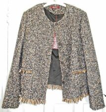 Max Mara Studio Cotton/Wool Ladies Jacket Size GB 14
