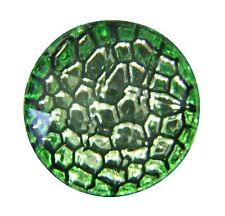 Noosa Style Chunks Snap Button Charms Chunk Charm Snaps Reptile Skin Green 18mm