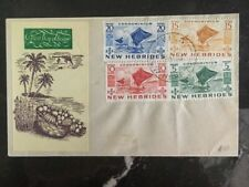 1953 Villa New Hebrides First Day Cover FDC