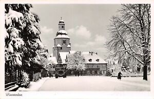 Winnenden Stadtpartie im Schnee ngl 157.146