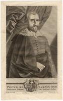 VOC Antique Print-PIETER DE CARPENTIER-INDONESIA-Balen-Diamaer-Valentijn-1726