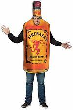 Rasta Imposta Fireball Whiskey Get Real Bottle Adult Mens Halloween Costume 4253
