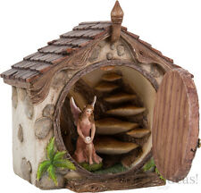 Vivid Arts - MINIATURE WORLD FAIRY GARDEN HOME - Opening Dome House Fairy Door
