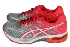 Asics gel flux 4 womens running shoes silver metallic orange size 6
